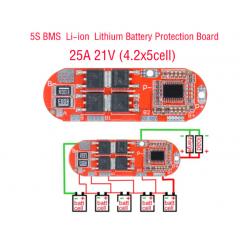 5s 25a Mini Bms Ecualizador Pack 21v 18650 Itytarg