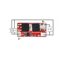 1s 25a Mini Bms Ecualizador 1 X 18650 Itytarg