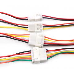 Lote 2 X Juego Cables 2pin Xh2.54 Macho Y Hembra 20cm C/u  Itytarg