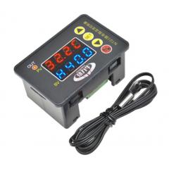 Nt01 Control Temperatura Termostato 12v -55 A 120 Grados Buzzer Gabinete Itytarg