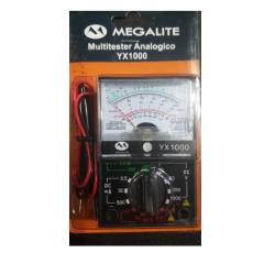 Tester Multimetro Analogico Yx1000 Megalite Itytarg