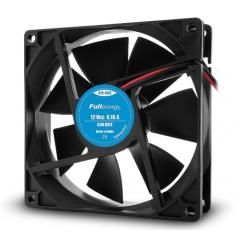 Cooler Fan Ventilador 12v 0.16a 92x92x25 1.9w  Con Buje 3.5 Pulg A Cable Fullenergy Itytarg