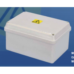 Caja Plastica Cp50 Gabinete Estanco Blanco Intemperie  Itytarg