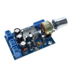 Tea2025b  Amplificador  Audio Estereo 2,0 Canales 3w + 3w, 5v A 12v Itytarg