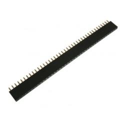 Lote 10 X Tira Pines Hembra 1x40 No Fraccionable 2.54mm Generico Itytarg
