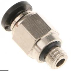 Pc4-m6 Conector Neumatico Para Tubo De Teflon De 4mm Hot End  Impresora 3d  Itytarg