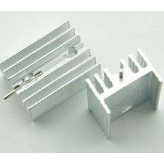 Lote 5 X Disipador De Calor Para To220 16x15x10mm C/pin Soporte Itytarg