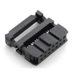 Lote 5 X Conector Idc-14 Idc14 Macho Para Cable Plano Paso 1.27mm  Itytarg