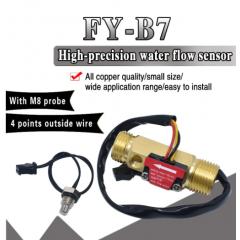 Fy-b7 Sensor De Flujo De Agua 1-25l/m Caudalimetro 1/2 Pulgada Itytarg
