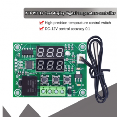 W1219  Control Temperatura Termostato 12v Dual Display  Itytarg