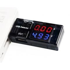 Doctor Usb Voltimetro Amperimetro Detector 2 Salidas Itytarg