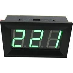 Voltimetro Panel 2 Hilos 4.5v A 30v Verde Display 0.56 Pulg Itytarg