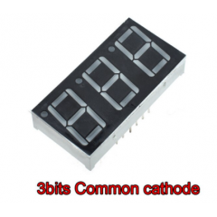 Display 7 Seg Cc Rojo 0.56 Pulg Triple 14.2mm Altura Itytarg