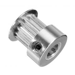 Polea Dentada Aluminio P36-gt2-6-bf 20t-8mm  Robotica 3d Cnc  Itytarg