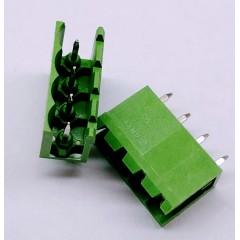 10 X Bornera Enchufable Macho 4 Pin 5mm 180º Open Xy2500 Itytarg