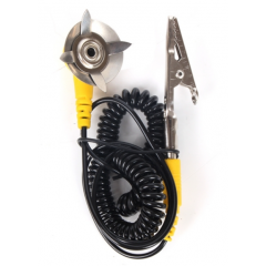 Cable De Proteccion Antiestatica Con Pinza Hook Clip Gancho Itytarg