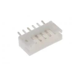 Lote 5 X Conector 2sh-c-06-ts Header 6pin Pitch 2mm Itytarg