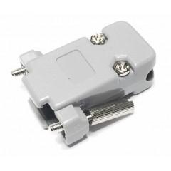 Lote 2 X Tapa Plastica Conector Db9 Rs232 C/tornillo Perillero  Itytarg