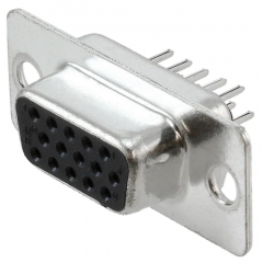 Conector D15s-hd Db15 Hembra Alta Densidad Vga Itytarg
