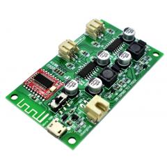 Amplificador Audio 6w+6w Bluetooth Para Lipo 4.2v Usb 5v Itytarg