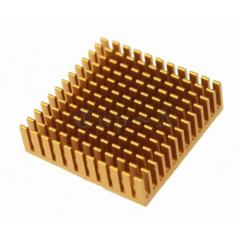 Disipador De Calor Aluminio Led 10w 40x40x11mm Golden Itytarg