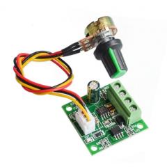 1803bw Control Velocidad Motor Pwm 2a 12v C/pote Itytarg