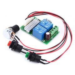 Control Velocidad Motor Dc  Pwm 3a 6v 24v Inv Giro  Itytarg