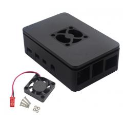 Kit Gabinete Abs Raspberry Pi4b +  Cooler  Itytarg