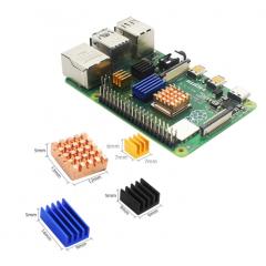 Kit Disipadores Raspberry Pi4 Plateado Itytarg