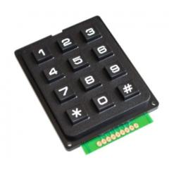 Teclado Matricial 4x3 Tipo Telefonico Uso Microcontrolador Arduino Itytarg
