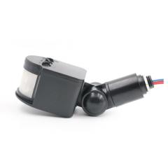 Pir 12v Exterior Sensor Movimiento Infrarrojo Negro Itytarg