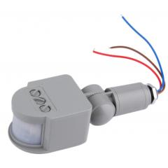 Pir 12v Exterior Sensor Movimiento Infrarrojo Gris Itytarg
