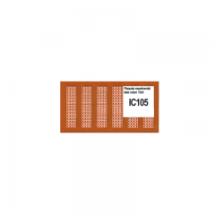 Ic105 Placa Pcb Islas Simple Faz Fenolico Pertinax 10x5cm Itytarg