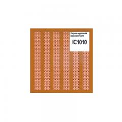 Ic1010 Placa Pcb Islas Simple Faz Fenolico Pertinax 10x10cm Itytarg