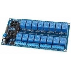 Modulo Rele 16ch 12v Relay Opto Arduino Itytarg