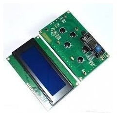 Display Lcd 20x4 Hd44780 I2c Azul Arduino Itytarg