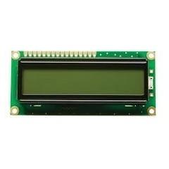 Display Lcd 16x1 Con Back Light Tech1601a-fl-gbw  Itytarg
