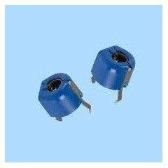 Trimmer Azul T2 Capacitor Variable 2pf A 7pf  Itytarg