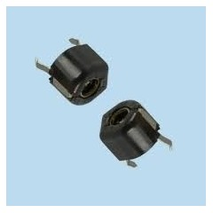 Trimmer Negro Capacitor Variable 10pf A 120pf  Itytarg