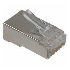 Conector Plug Rj45 8 Pines Blindado  Itytarg