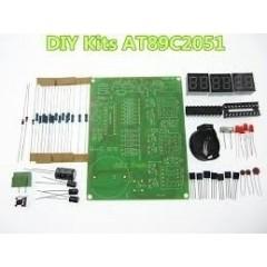 Diy Kit Para Armar At89c2051 Reloj Electronico Itytarg