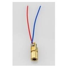 Led Laser De Punto 5mw  5v 6mm 650nm Itytarg