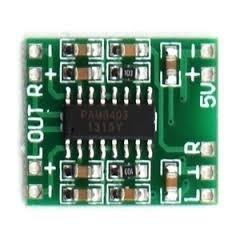 Mini Pam8403 2 X 3w 5v Amplificador Audio Itytarg