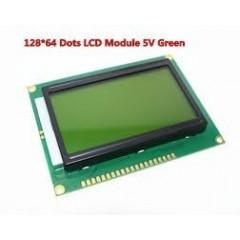 Display Grafico Lcd 128x64 Verde B.l. St7920 Arduino Itytarg