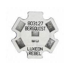 Disipador Termico Estrella  Para Led Smd Lumileds Luxeon L803127 Itytarg