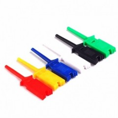 Lote 6 Pinzas Hook Clip Gancho Doble Tester O Cable Itytarg