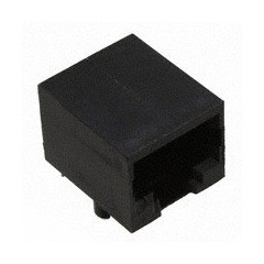 Conector Jack Rj50 / Rj45 10 Pines Plastico Negro Cat5 Pcb 90 G B Ss-641010  Itytarg