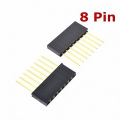 2 X Tira Pines Hembra Conector 8 Pin 11mm 2.54mm Pc104 Generico Itytarg