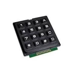 Teclado Matricial Plastico Pcb 4x4 Arduino Itytarg