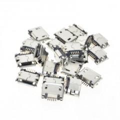 Lote 10 X Conector Micro Usb Smd Tipo B Hembra Arduino Itytarg